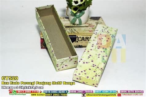 cara bungkus kado persegi panjang box kado persegi motif souvenir pernikahan