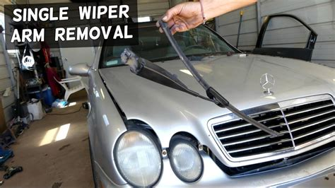 service manual replace rear wiper arm 2002 mercedes benz e class service manual rear mercedes single wiper arm removal replacement windhsield wiper youtube
