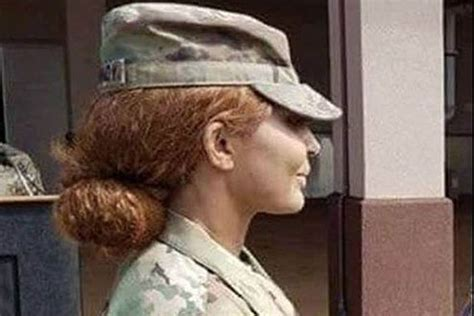 air force female wear a bob hairstyle brigade s top enlisted soldier regrets uproar over being