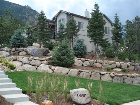 Commercial Landscaping Construction In Colorado Springs Landscapers Colorado Springs
