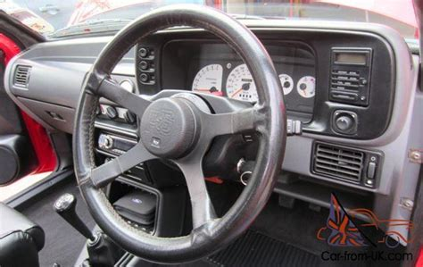 security system 1990 ford escort parking system 1989 ford escort rs turbo s2 stunning showroom condition throughout