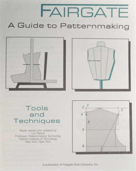 Guide To Patternmaking | fairgate 14 500 book pattern making book