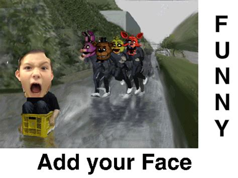 Add Meme Face To Photo - add your face running away from fanf crew on scratch