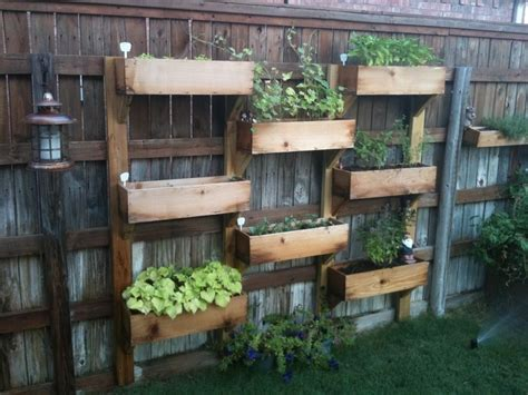 Vertical Garden Box Vertical Wooden Box Planter The Owner Builder Network