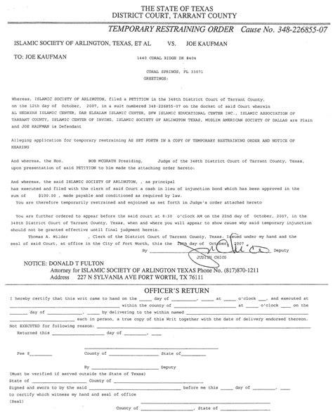 printable restraining order forms printable civil restraining order forms bing images