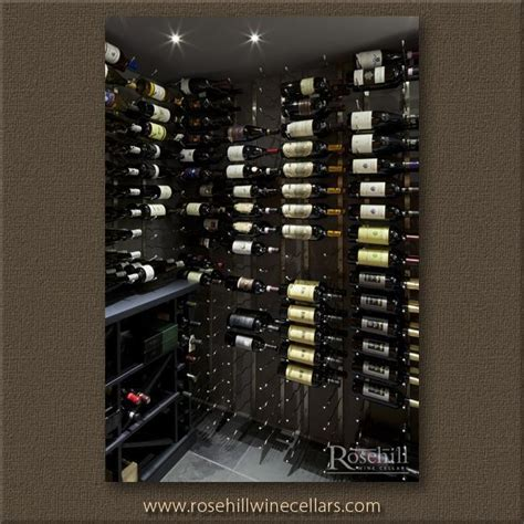 Brushed Nickel Wine Rack by Metal Wine Racking Gallery Wine Cellar Cooling Units