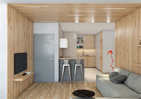 Wood Paneling For Ceilings by Two Lovely Apartments Featuring Wood Paneling