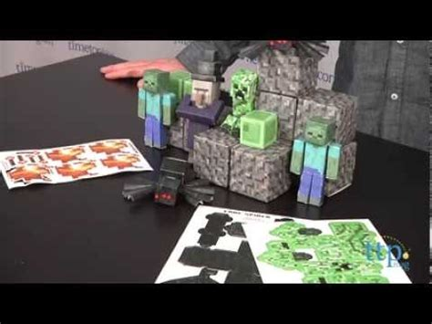 Minecraft Overworld Papercraft - minecraft papercraft overworld hostile mobs from jazwares