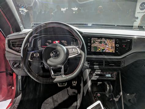 volkswagen polo 2017 interior 2017 vw polo gti interior live image