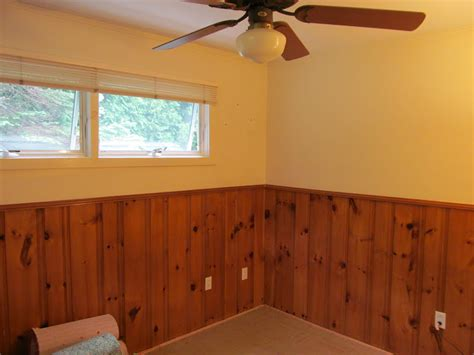 wall paint that doesn t get dirty half wall painted wood paneling treatment certainly more