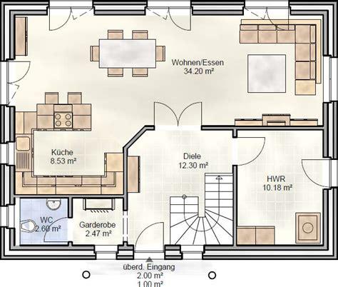 grundriss haus speisekammer fam 130 einfamilienhaus als satteldachhaus landhaus
