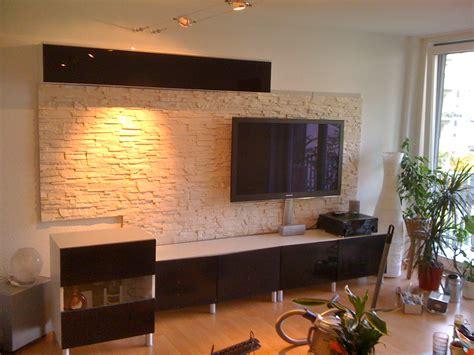 wohnzimmer mit steinwand steinwand im wohnzimmer abenteuer bau