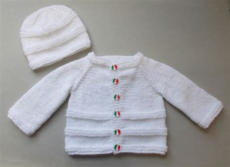 baby cardigan sweater knitting patterns galore roma baby cardigan and hat