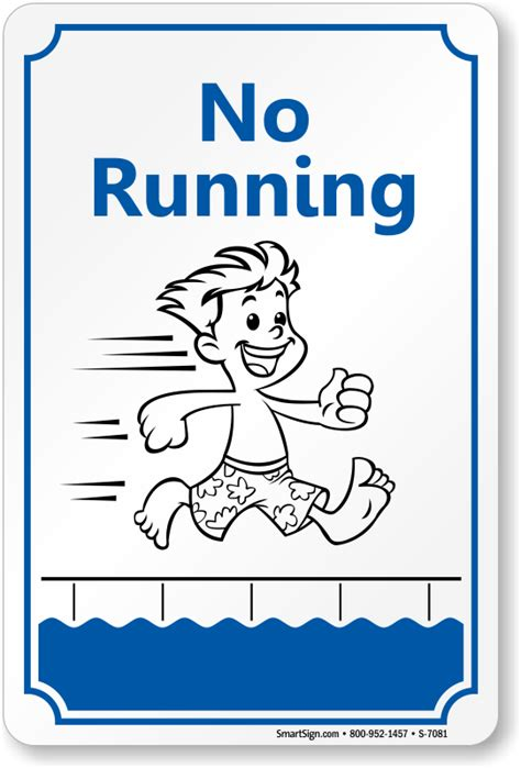 no running sign with graphic free pdf sku s 7081