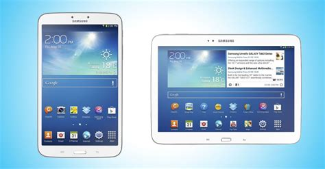 Samsung Tab 2 Juta samsung announces 8 inch and 10 1 inch galaxy tab 3