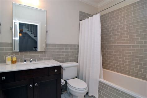 subway tile wainscoting bathroom subway tile wainscoting bathroom