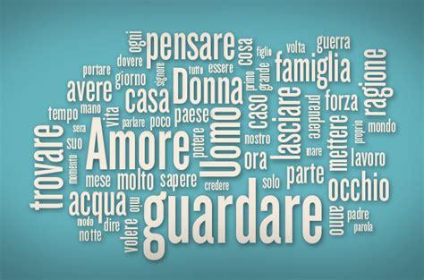 testo sono parole le 10 parole usate pi 249 spesso