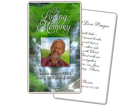 prayer cards for funerals template 1000 images about prayer cards and templates on