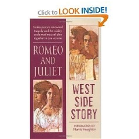 themes of west side story and romeo and juliet in 1961 west side story which is actually based on romeo