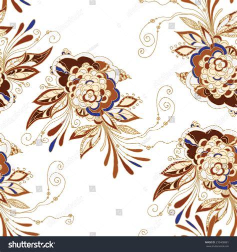 batik pattern vector illustrator seamless batik pattern stock vector illustration 233408881