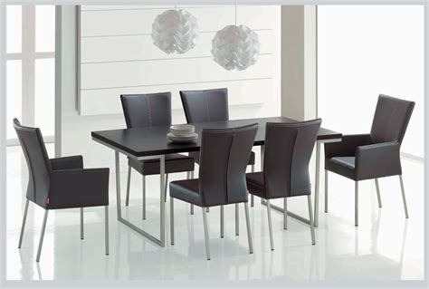 Modern Dining Room Table And Chairs Attractive Decor With A Modern Dining Room Sets Trellischicago