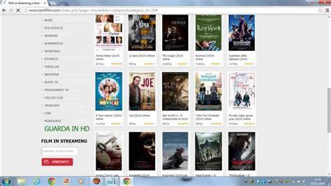 film gratis e senza limiti dove trovare i film gratis in streamming senza limiti in