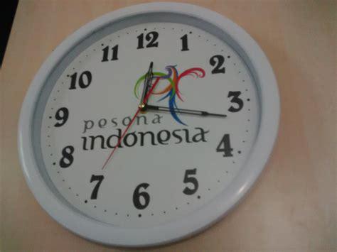 buat jam dinding murah jual jam dinding promosi 33 cm harga murah jakarta oleh