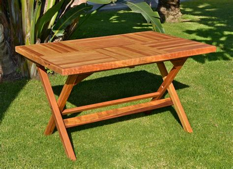 outdoor wooden folding table folding wood patio furniture home ideas