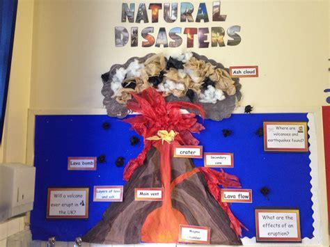 themes ks2 natural disasters display future classroom