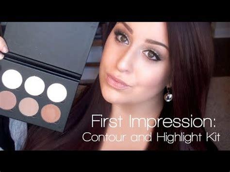 Contouring Light Skin by Contour Kit Impression Demo