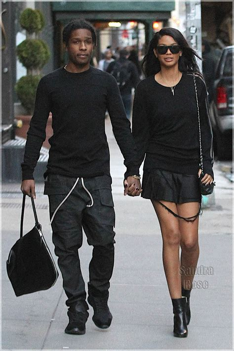chanel iman diet and exercise exclusive asap rocky and jourdan dunn spotted in soho