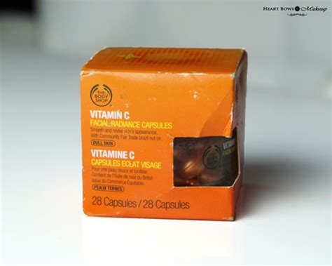 Serum Vit C The Shop the shop vitamin c radiance capsules review