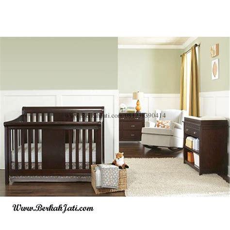 Tempat Tidur Bayi Besi set kamar bayi minimalis laki laki berkah jati furniture