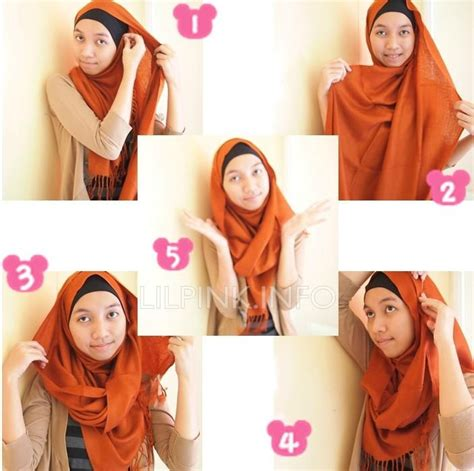 tutorial hijab pashmina fashion 17 best images about how to wear hijab wrap on pinterest