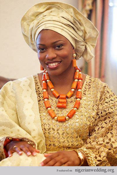 Nigerian Wedding Colors: Gorgeous Aso Oke Color Ideas For