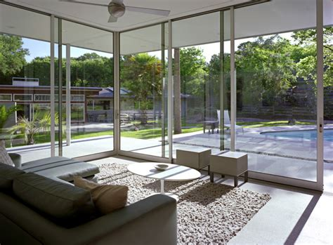 green glass room tarrytown pavilion modern sunroom by