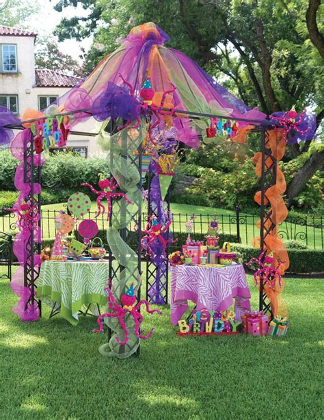 Outdoor Canopy Decorating Ideas by How To Decorate Birthday At Home Interior Home