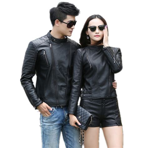 jaket kulit leather jacket model bikers coklat best buy