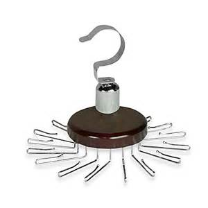 buy 16 hook spinning tie hanger from bed bath beyond