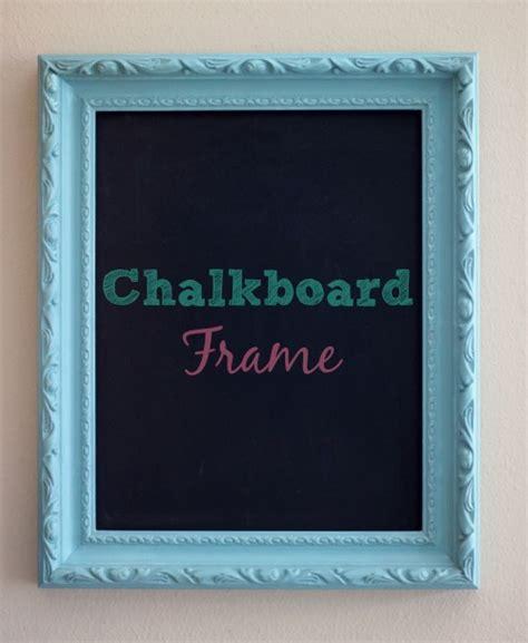 chalkboard paint border ideas chalkboard frame simplysweetsbyhoneybee