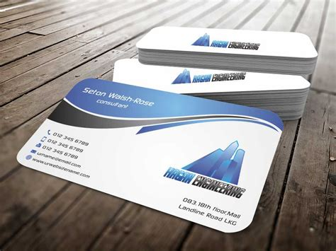 civil engineer business card template serious professional business card design for marguerite