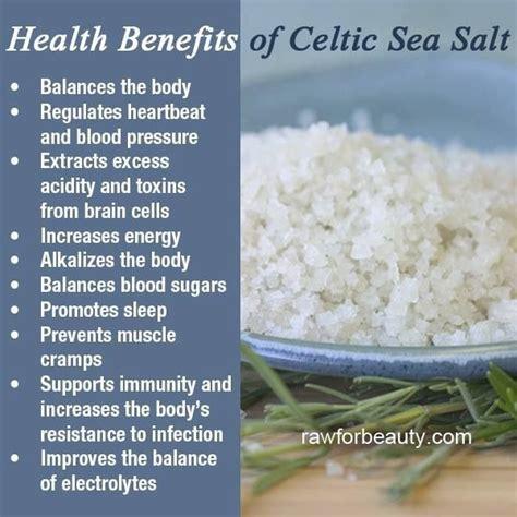 sea salt l benefits benefits of celtic sea salt books worth reading pinterest