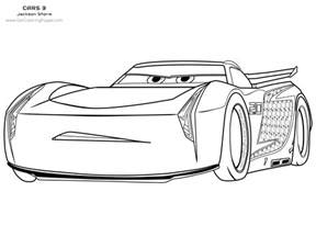 10 Disney Cars 3 Coloring Pages
