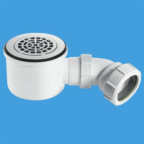 Shower P Trap by Mcalpine St90cpb P Hp 90mm Shower Trap With 50mm Water Seal