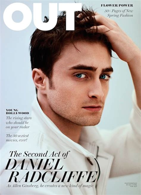 Grungy Potter Daniel Radcliff On The Cover Of Details Magazine by Daniel Radcliffe Covers Out Magazine Is Totally Amazing