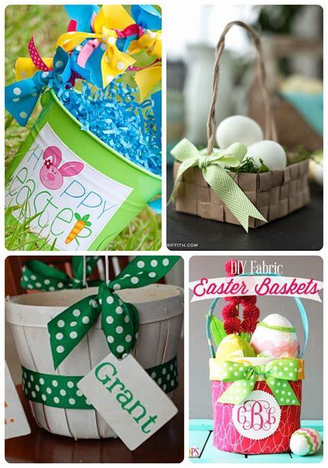 Handmade Easter Gifts - 25 easter basket tutorials u create