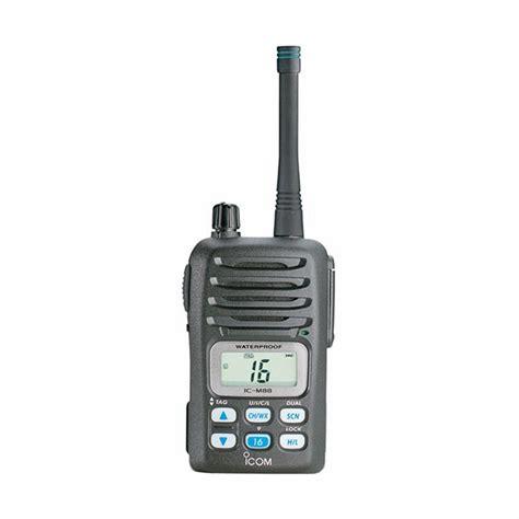 Speaker M88 icom m88 handheld marine vhf radio tackledirect