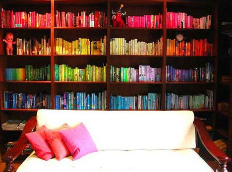color coordinated bookshelf brilliant bookcases 20 best bookshelf bookcase designs