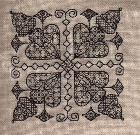 black embroidery pattern blackwork black work and leon on pinterest