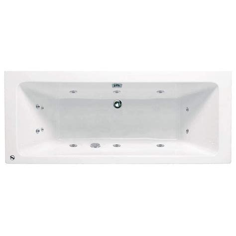 ended shower bath vernwy 1700x800 ended whirlpool bath buy at bathroom city